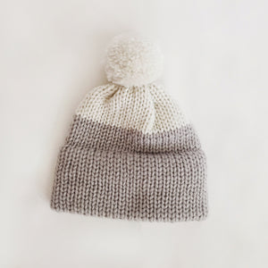 Heirloom Wool Hat - Stone