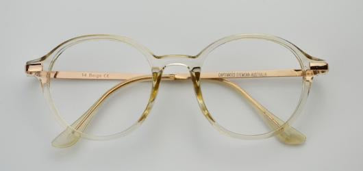 Round Frame Reading Glasses CR14