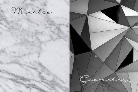 Lighting Trends 2016 Marble Geometry