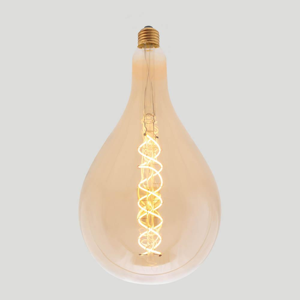 A165 Double Soft Spiral Filament by Vintage LED