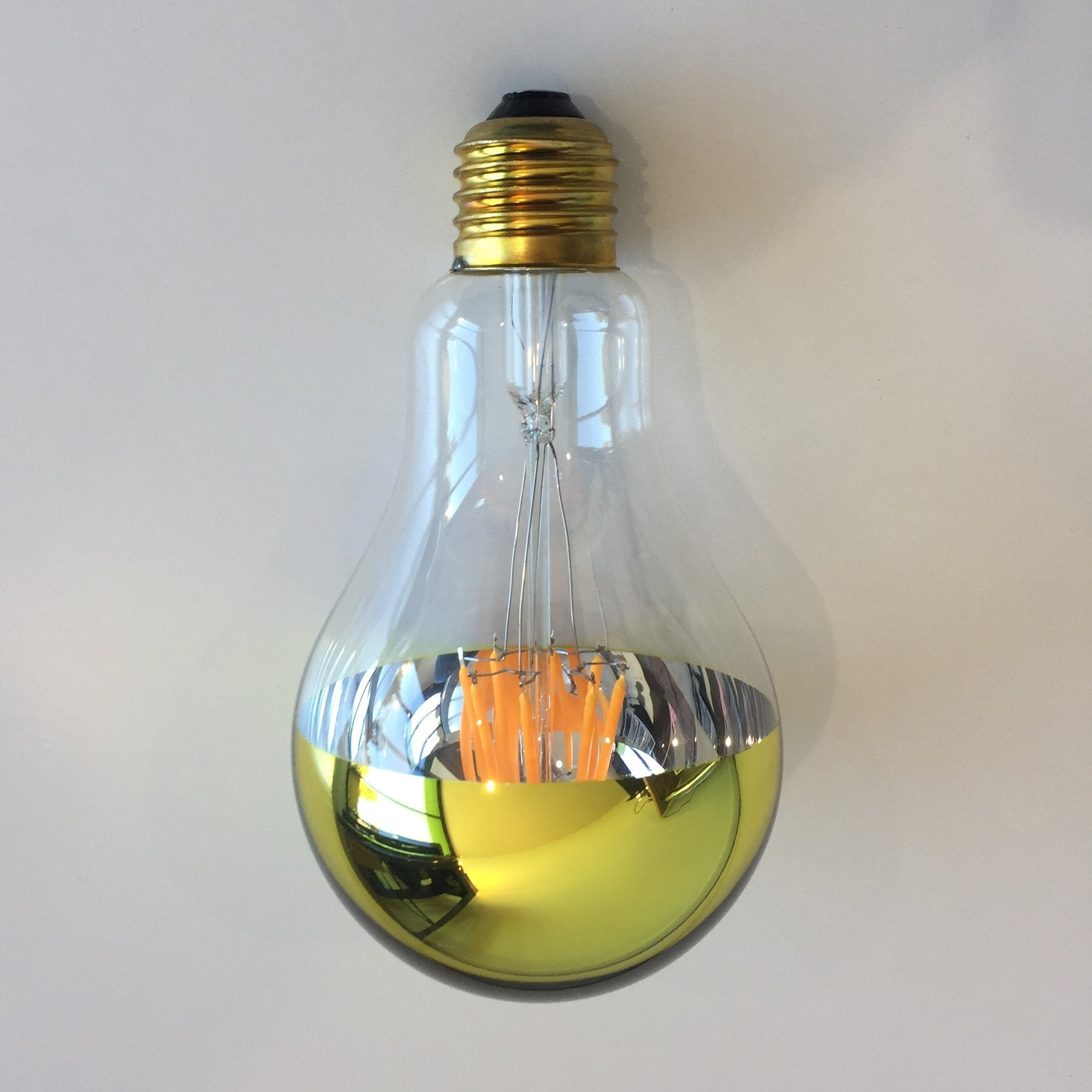 A80 Filament Gold Cap by Vintage LED