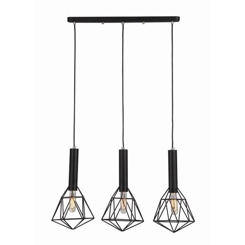 Blackband 3 Light Pendant