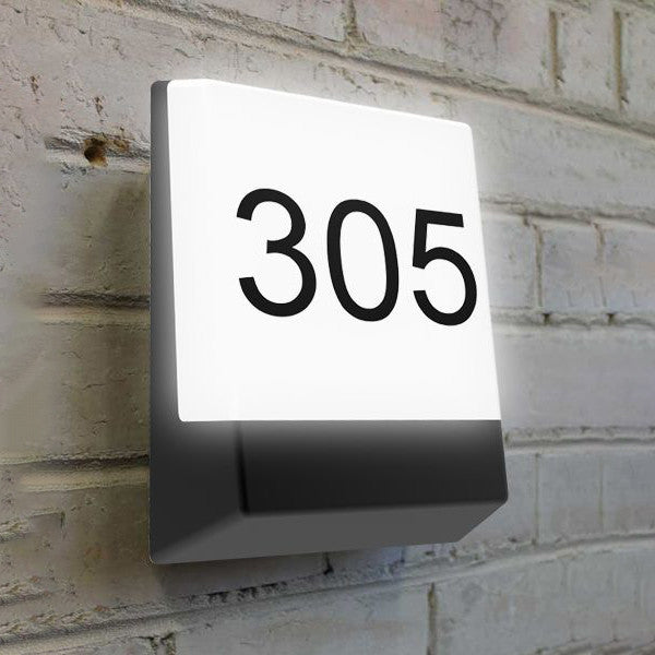 CLA Bright LED Letterbox Light in Black - Lighting Lighting Lighting