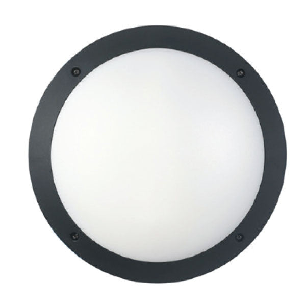 Bulk Exterior LED Wall Light - Circle
