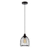 CLA Small Black Mesh Bell Pendant - Lighting Lighting Lighting