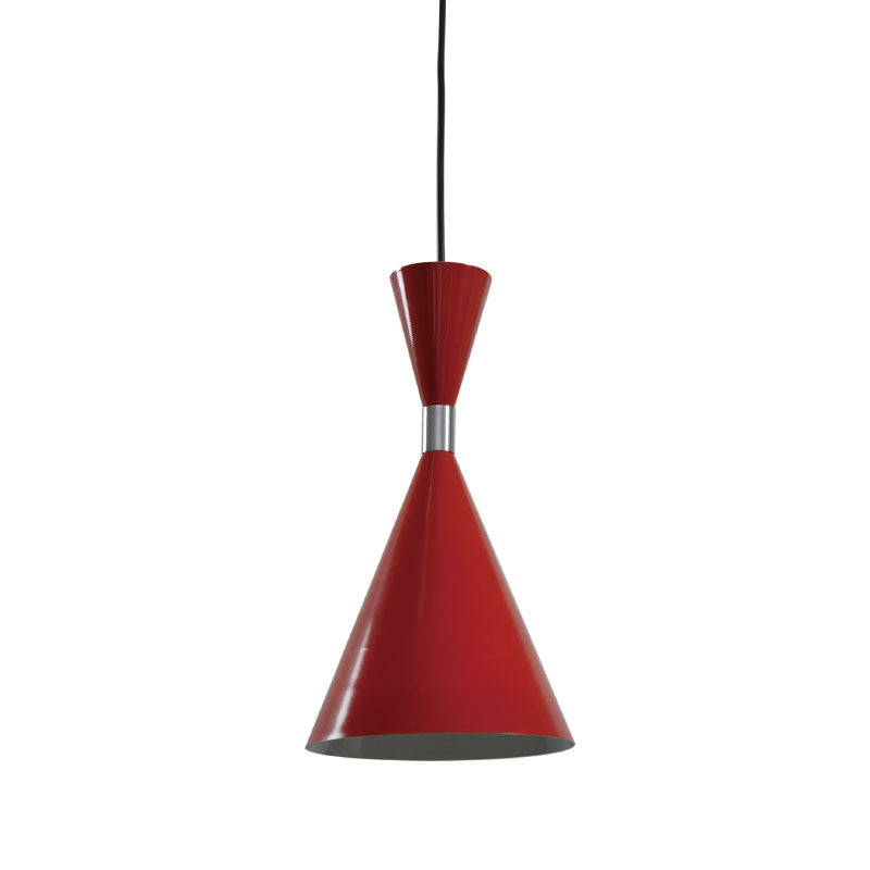 CLA Red White Classic Modern Pendant Light - Lighting Lighting Lighting