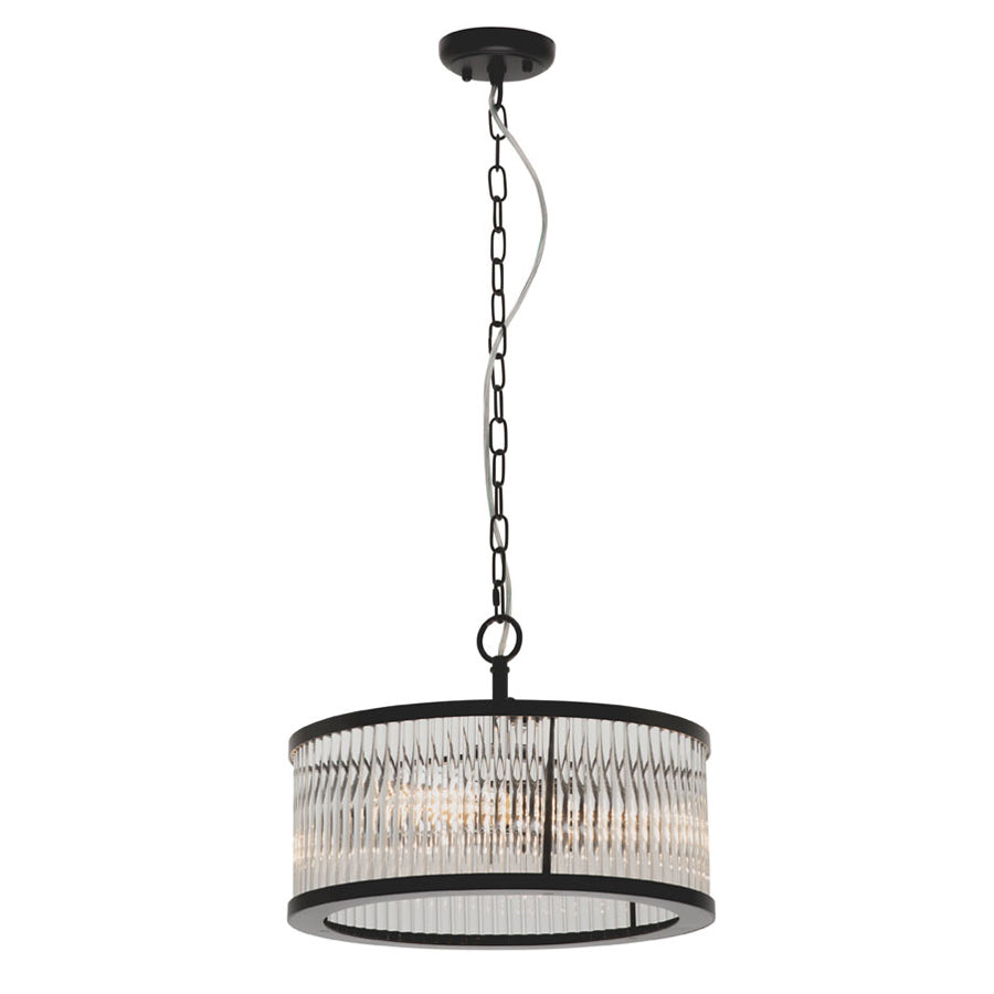 Canterbury 4 Light Round Pendant