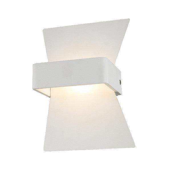 CLA White Davos LED Interior Up Down Wall Light -Lighting Lighting Lighting