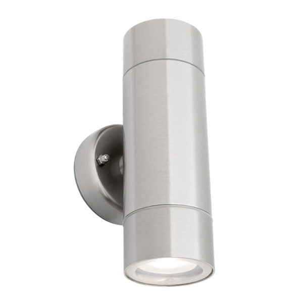 Mercator Stainless Steel Up Down Exterior Wall Light - Lighting Lighting Lighting