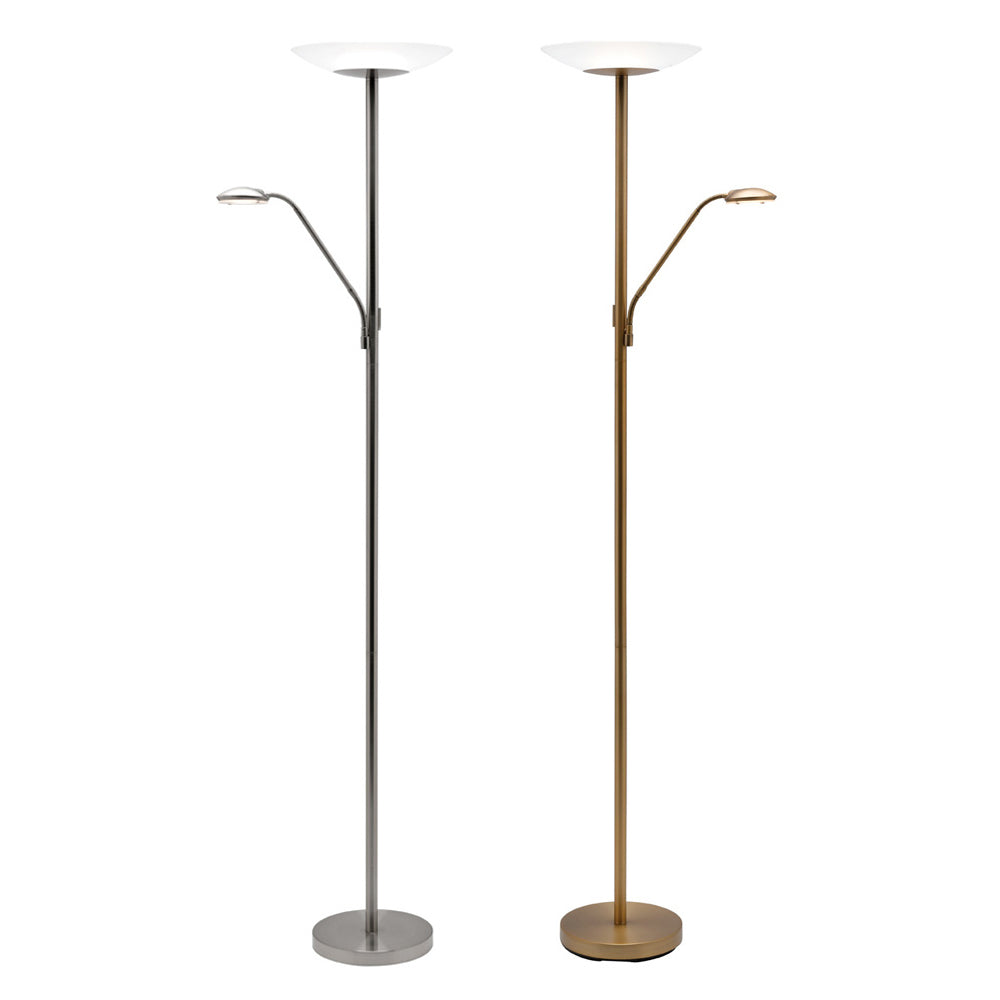 2 Light Floor Lamps