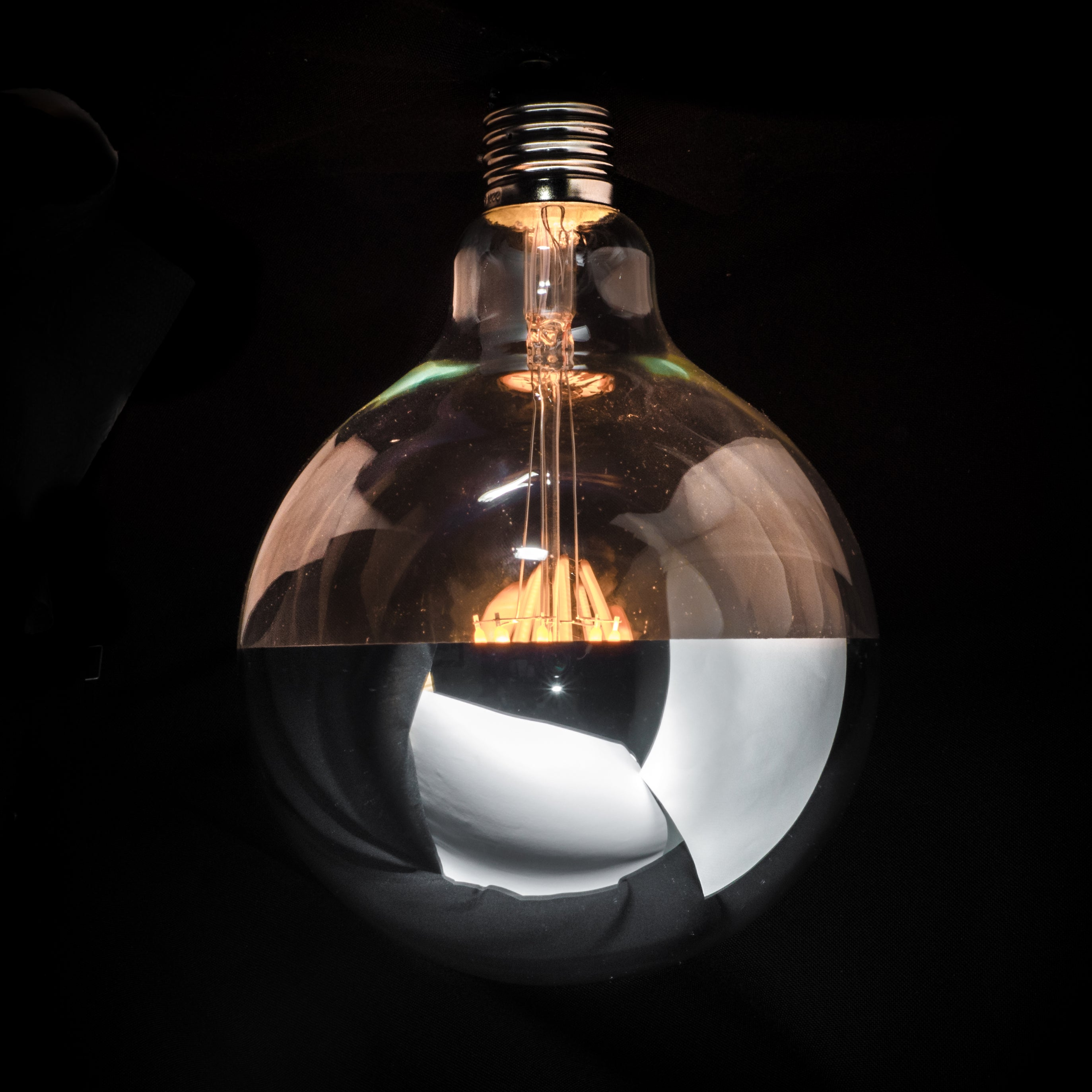G125 Filament Silver Cap by Vintage LED