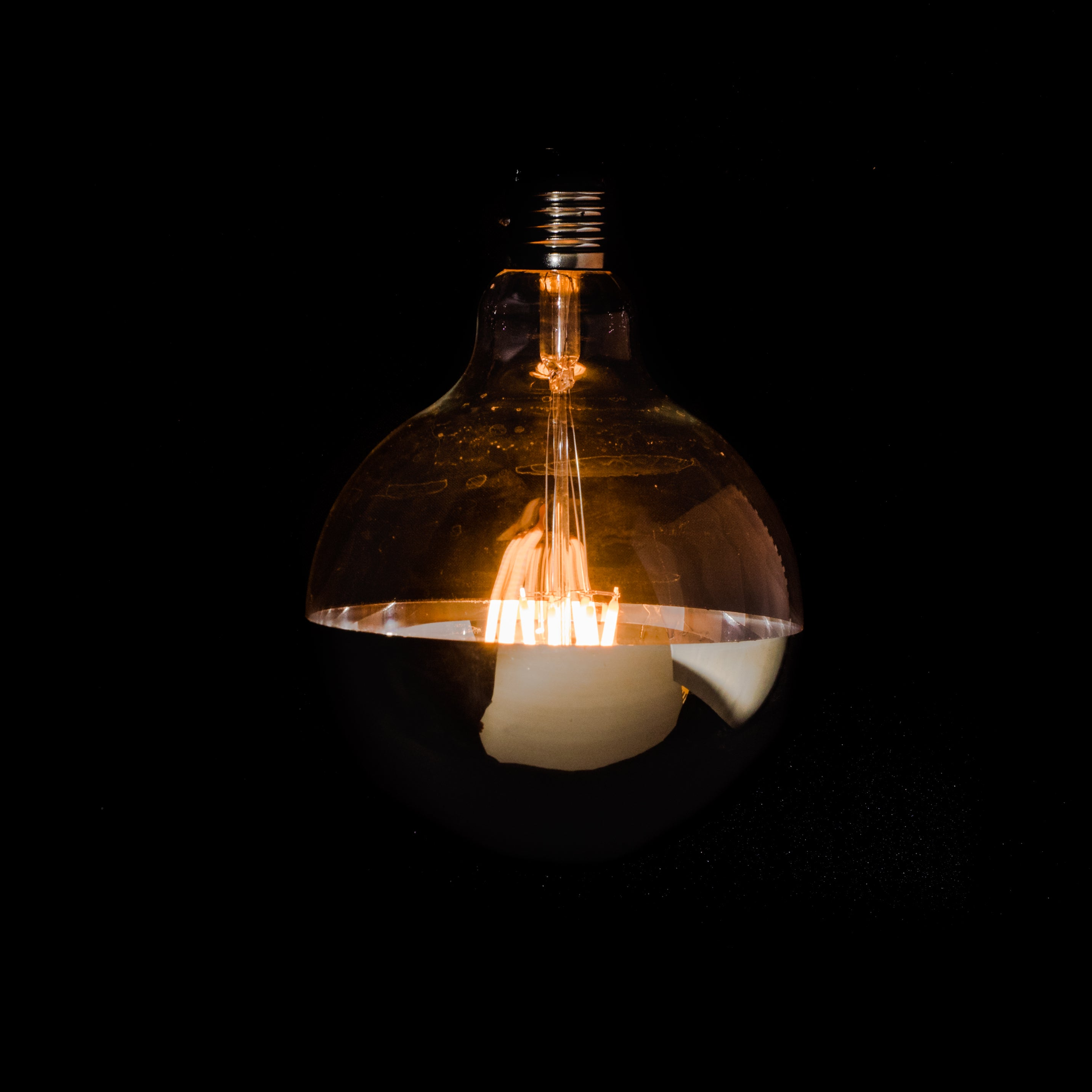 G125 Filament Gold Cap by Vintage LED