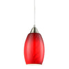 CLA Red Hand Blown Glass Pendant - Lighting Lighting Lighting
