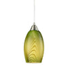 CLA Green Hand Blown Glass Pendant - Lighting Lighting Lighting