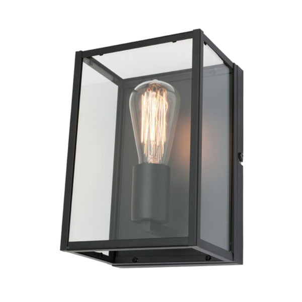 Mercator Black Manchester Wall Light - Lighting Lighting Lighting