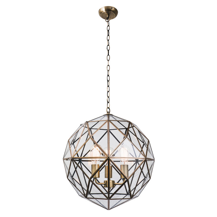 Medici 3 Light Pendant