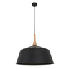 CLA White Black Timber Scandinavian Nordic Pendant - Lighting Lighting Lighting