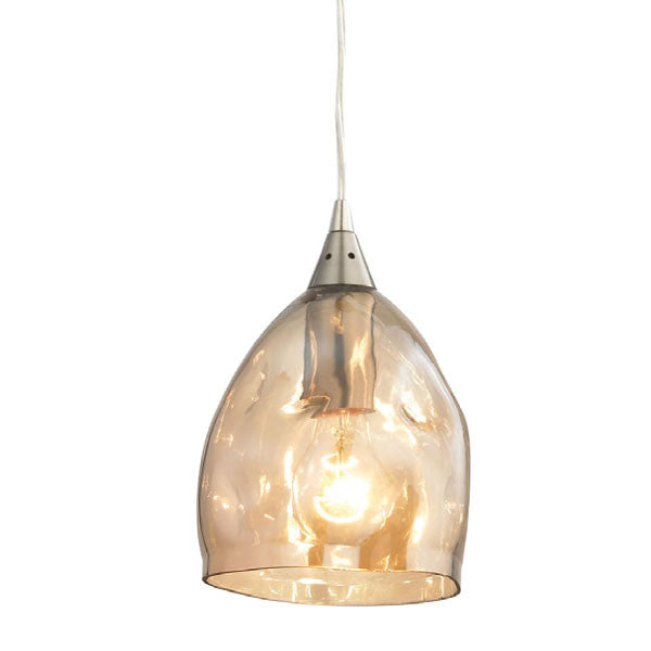 CLA Hand Blown Champagne Glass Pendant - Lighting Lighting Lighting