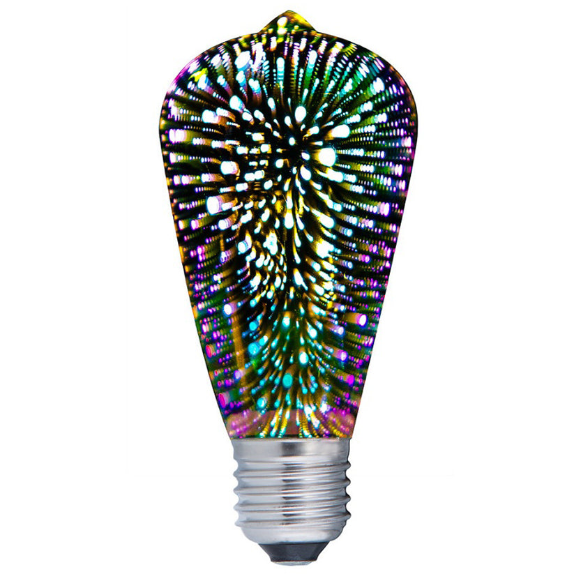 Spectra LED Pear Firework Effect Decorative Bulb