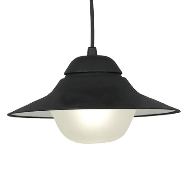 CLA Black White Spy Exterior Pendant - Lighting Lighting Lighting
