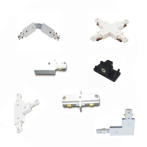 Track Lighting Accessories | 3 Wired T Connector