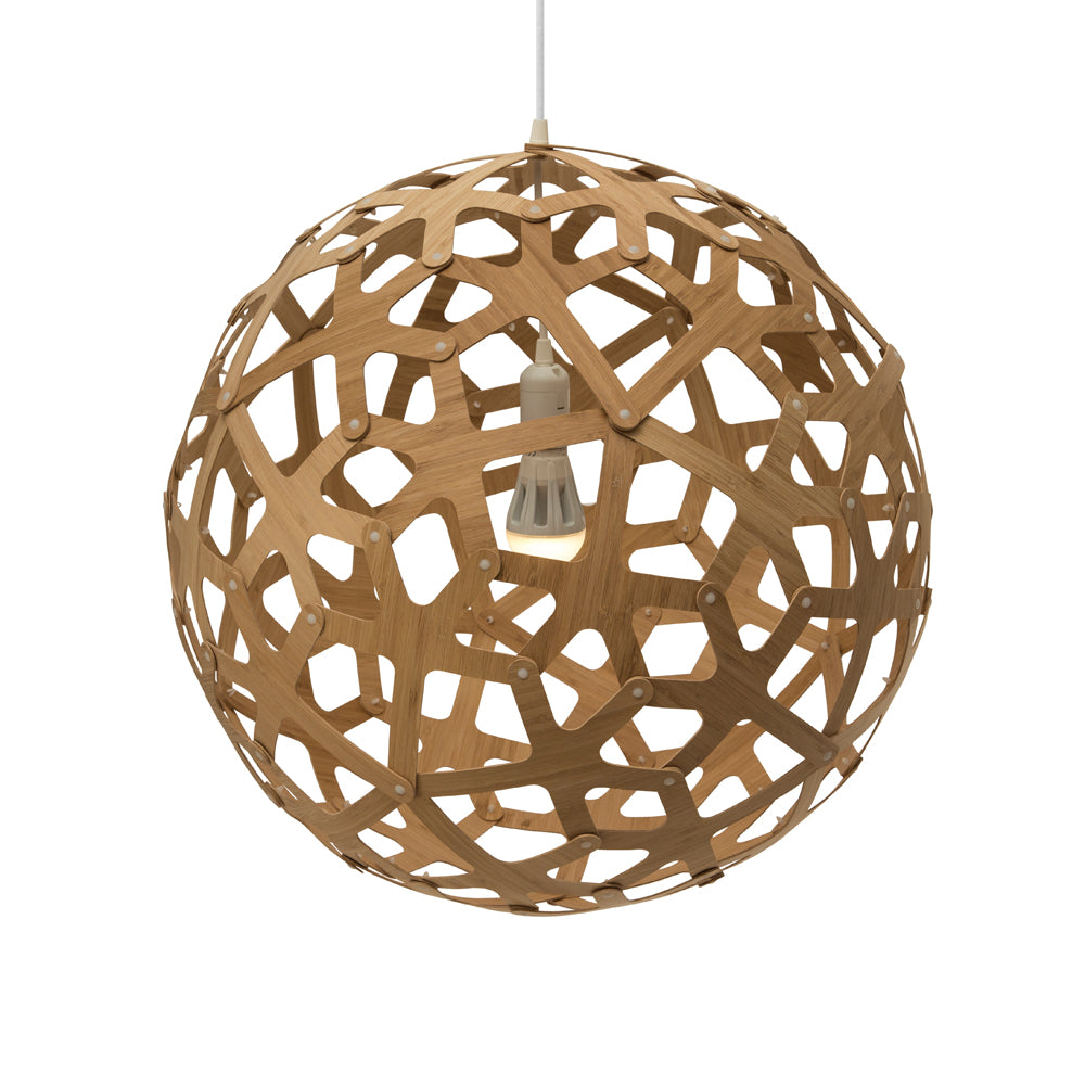 Coral 400mm Pendant by David Trubridge