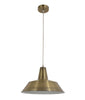 CLA Divo Antique Brass Metal Industrial Pendant - Lighting Lighting Lighting