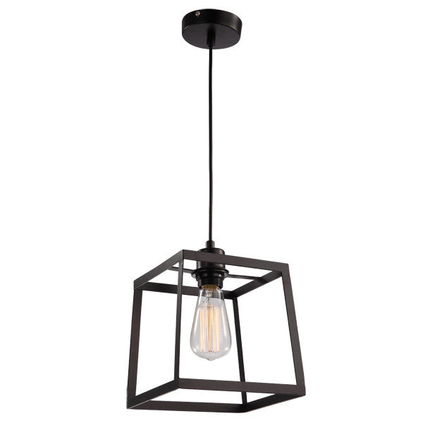 UGE Small Black Cube Pop Pendant - Lighting Lighting Lighting