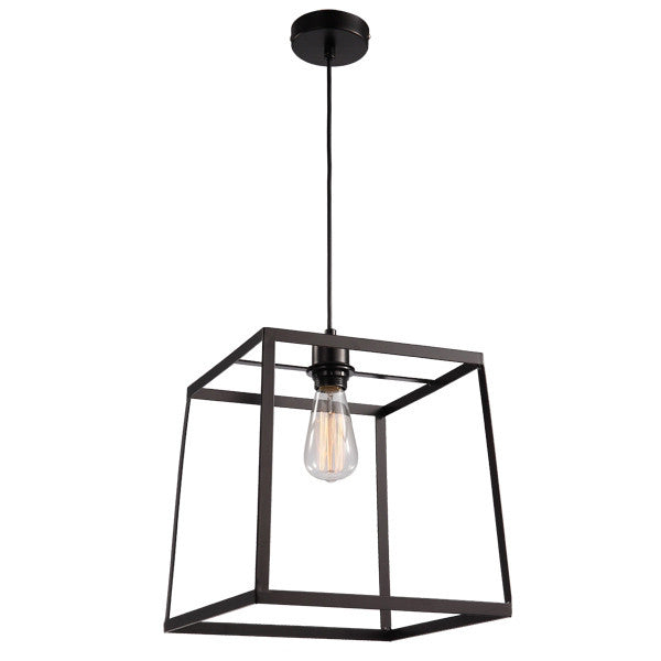 UGE Medium Black Cube Pop Pendant - Lighting Lighting Lighting