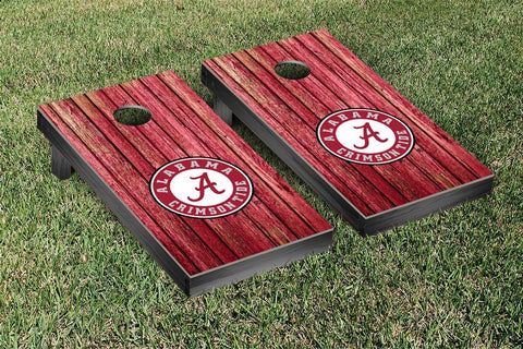 Alabama Crimson Tide Cornhole Set-Weathered Version
