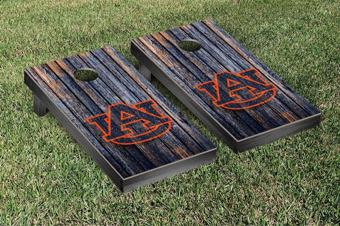 Auburn Tigers Cornhole Set-Weathered Version