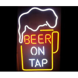 Beer On Tap Neon Bar Sign