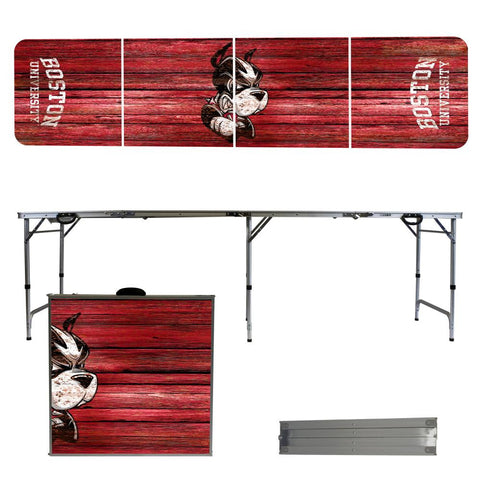 Boston University Terriers Beer Pong Tables