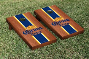 Corona Extra Cornhole Set- Stained Stripe