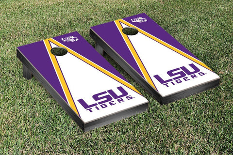 LSU Tigers Cornhole Set- Triangle Version