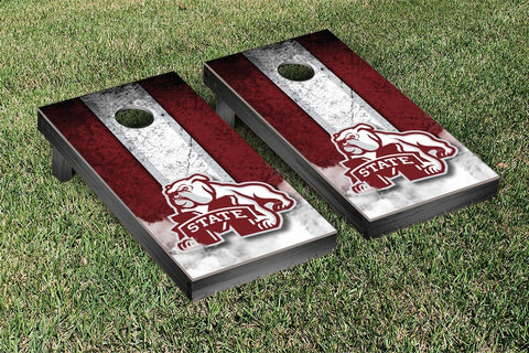 Mississippi State Bulldogs Cornhole Set- Vintage Version