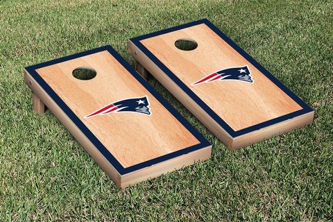 New England Patriots Cornhole Set- Hardcourt Border