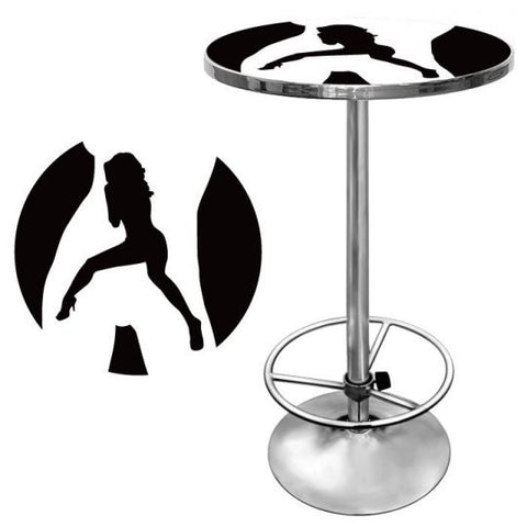 Pole Dancing Stripper Pub Table