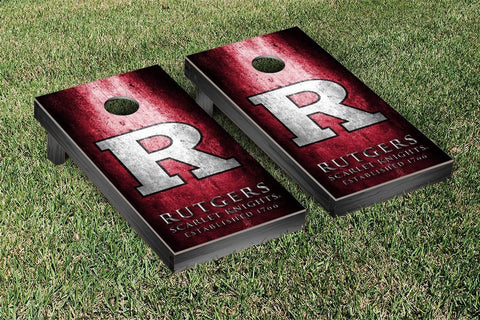 Rutgers Scarlet Knights Cornhole Set- Metal Version