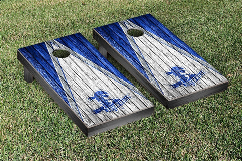 Seton Hall Pirates Cornhole Set- Weathered Triangle Version