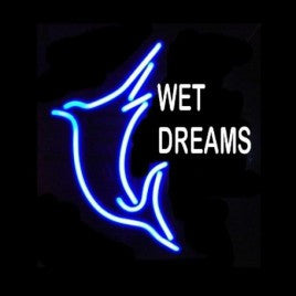 Wet Dreams Neon Bar Sign