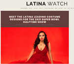 MEET THE LATINA LEADING COSTUME DESIGNS FOR THE 2021 SUPER BOWL HALFTIME SHOW