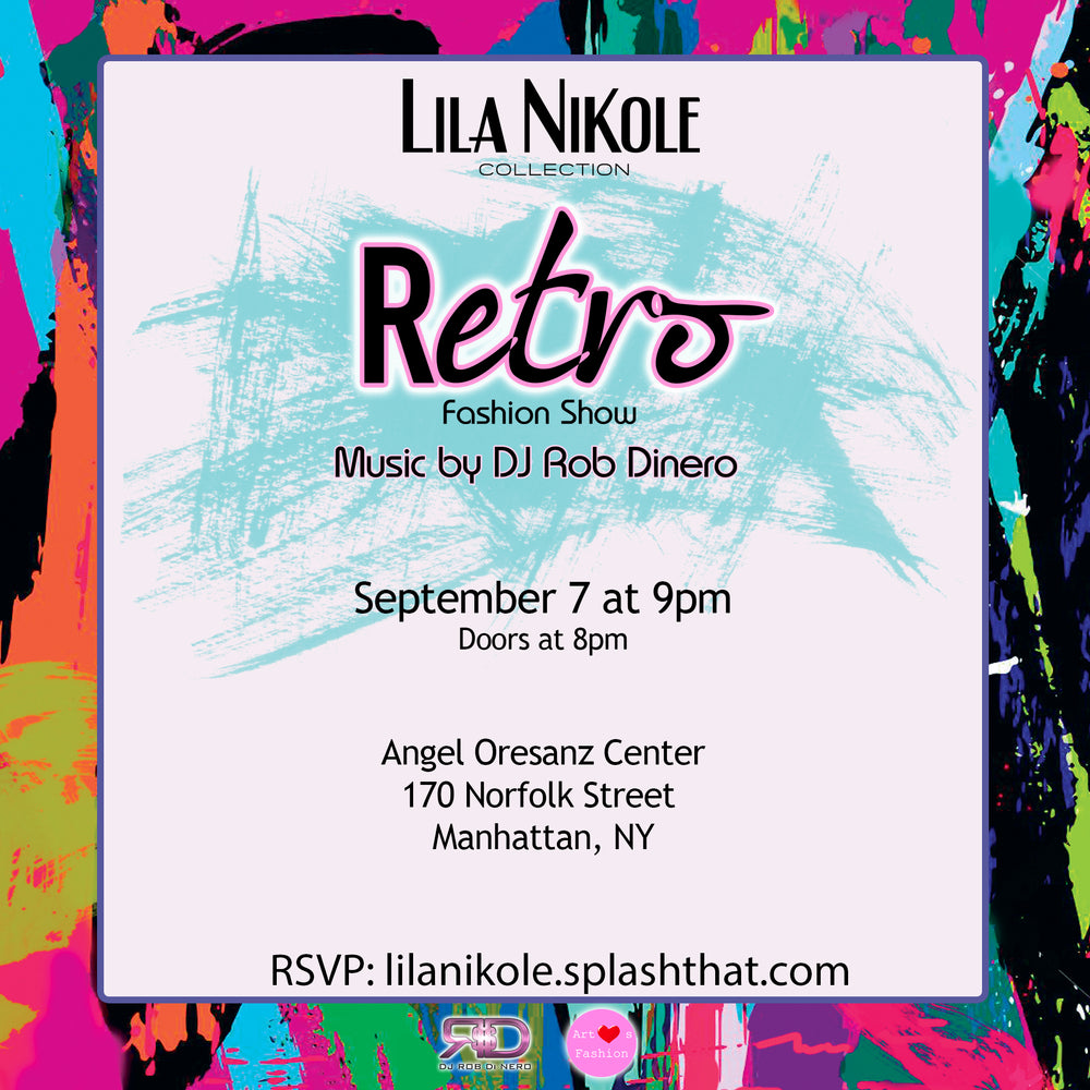 NY Fashion Week x Lila Nikole Retro Collection