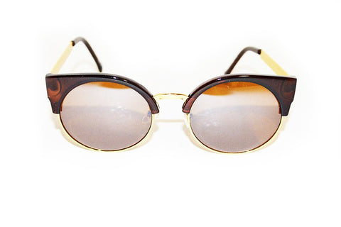 Cateye Brown Sunglasses