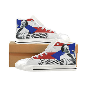 Load image into Gallery viewer, Hector Lavoe Custom Sneakers - Lila Nikole
