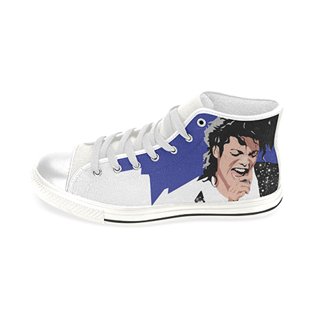Load image into Gallery viewer, Michael Jackson Custom Sneakers - Lila Nikole