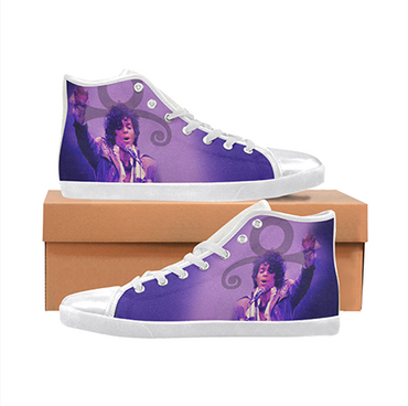 Prince/ Purple Rain Custom Sneakers