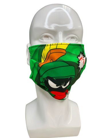 Marvin The Martian Face Mask