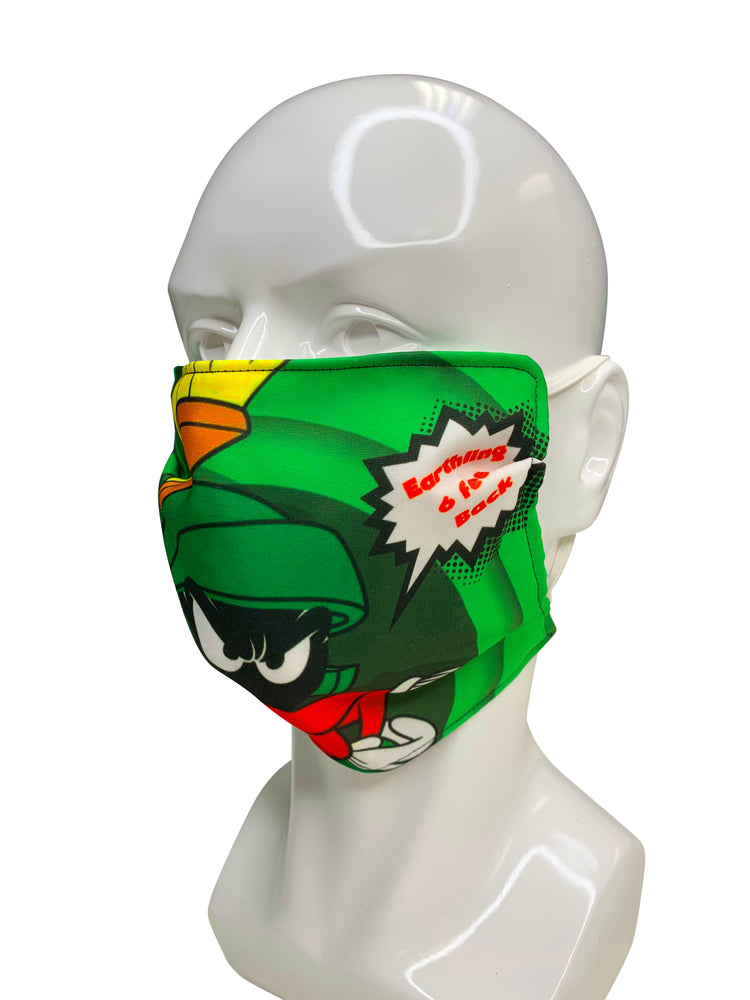 Marvin The Martian Face Mask - Lila Nikole