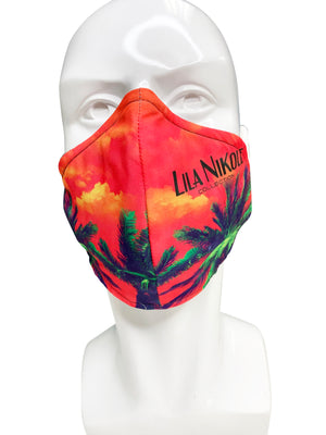 Load image into Gallery viewer, Signature Print 2 Face Mask - Lila Nikole